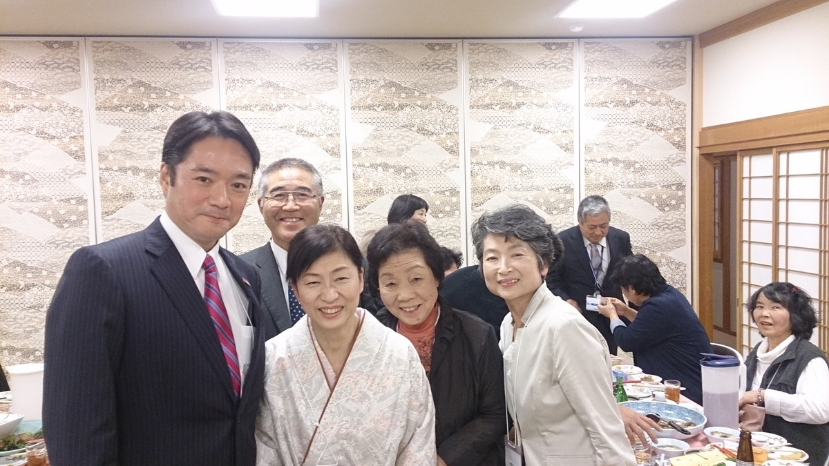尾崎高知県知事ご来店   高知県土佐市の割烹松尾 美味しいカツオのたたき